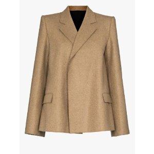 TotemeBonce A-line blazer | Browns