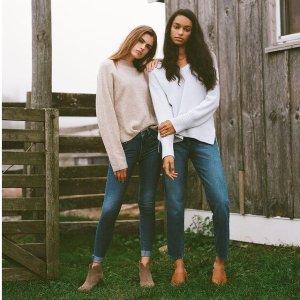 低至4折+额外7折Joe's Jeans 精选时尚牛仔服饰热卖 T恤$34 多款牛仔裤可选