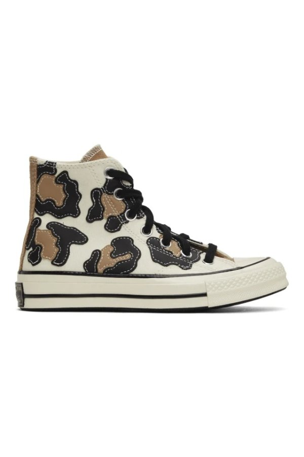 豹纹 Chuck 70 帆布鞋