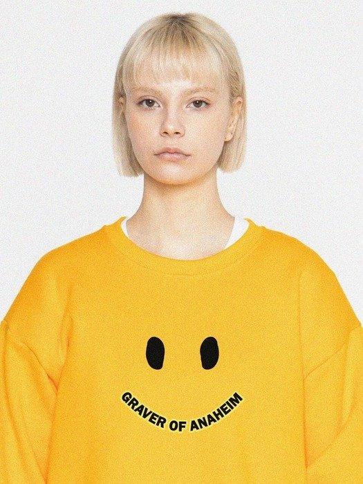 黄色笑脸卫衣