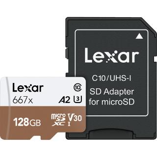 $17.99Lexar 128GB Professional 667x microSDXC Memory Card