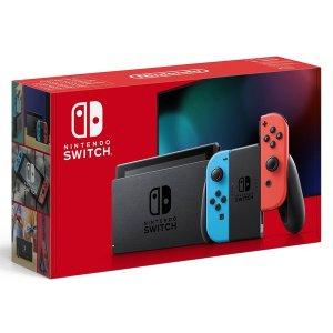原价£279.99Nintendo Switch 红蓝游戏机补货
