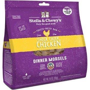 Stella & Chewy's雞肉味凍干貓糧 18oz