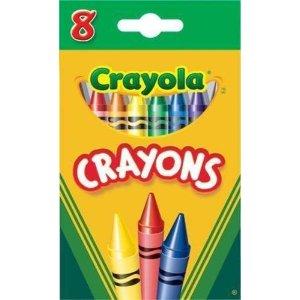 Crayola8色蜡笔
