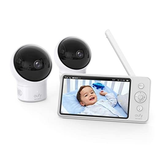 eufy Security 智能母婴监控 (2个720P无线摄像头+5