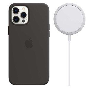 AppleiPhone 12 Pro Max 硅胶MagSafe保护壳+MagSafe充电器