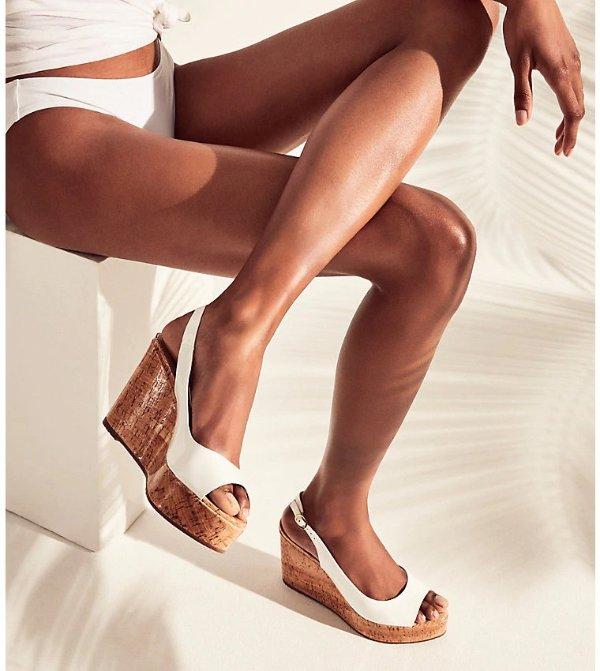 RIVERIA 坡跟鞋
