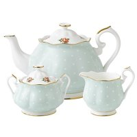 Royal Albert Old Country Roses 波点茶具3件套