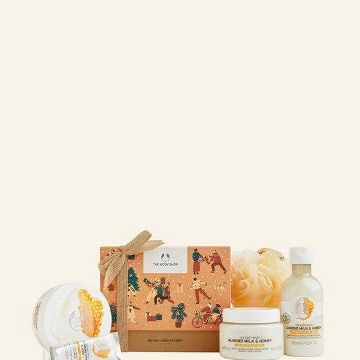 杏仁牛奶蜂蜜超值套装