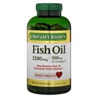 Nature's Bounty 鱼油1200 mg 胶囊 320粒