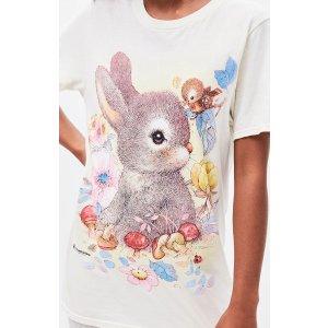 MARRKNULL兔兔T恤