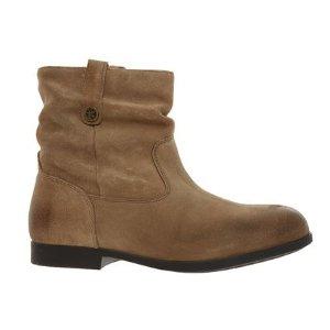 BirkenstockTaupe Suede Regular Fit Sarnia 麂皮踝靴