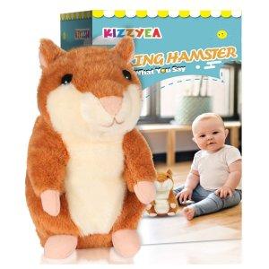 KIZZYEA Bigger Talking Hamster