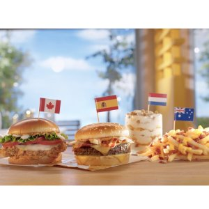 New Release McDonald's add global menu to the United States