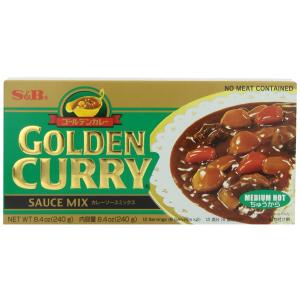 S&B Golden 经典日式咖喱酱中辣8.4oz超值装 5包