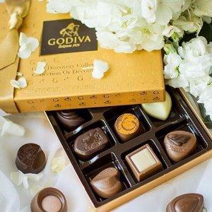 满额立享8折,新口味松露巧克力也参与Godiva 精选巧克力甜蜜热卖 低价收获奢华享受