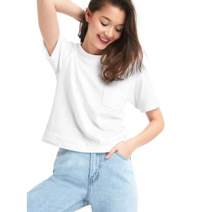 Gap白色T恤