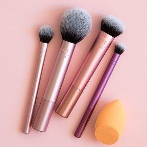 5折Kohl''s 精选 Real Techniques 化妆刷促销 收绝美玫瑰金系列