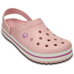 粉色洞洞鞋