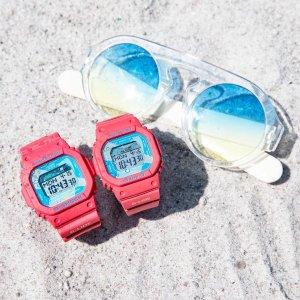 低至2折 $46.79收G-ShockCasio 阳光少年感多功能电子表系列  Baby-G方块也有