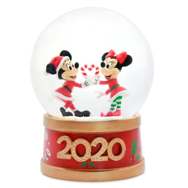Mickey and Minnie Mouse 节日款 水晶球