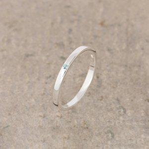 Lily charmed12月生日石戒指
