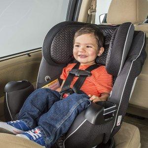 史低价$199.99 (原价$253.99)Evenflo Symphony LX 三合一可折叠儿童安全座椅