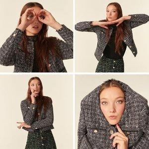 一律7折 £167收封面小香风外套Ted Baker 新款限时闪促 秋冬气质美衣现在快入手