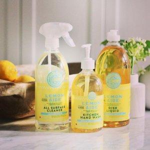 低至8折 500ml洗手液$7.19Lemon Aide 柠檬清洁产品 天然抗菌成分 无毒无刺激