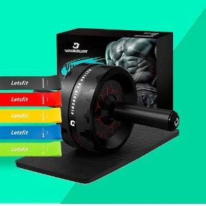 健腹轮、瑜伽地低至$20Amazon 值得入手的运动健身神器