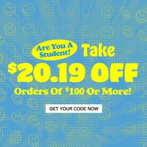 Last Day: Take $20.19 OffWomen's & Men's Collection @ Urban Outfitters
