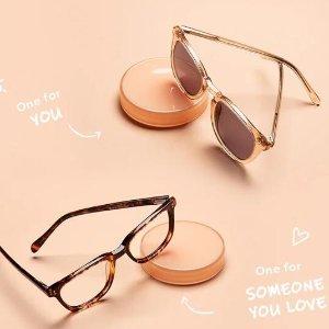 BOGO Free+Extra 15% OffShare the Love Sale @ Eyebuydirect