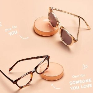BOGO Free+Extra 15% OffShare the Love Sale @ Eyebuydirect