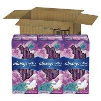 Radiant 夜用液体卫生巾 3盒x22片