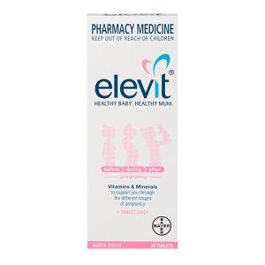 elevit孕期维生素Tablets 30 pack (30 days)