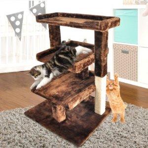 低至$8.99喵星人的新年礼物:Catch 精选多款式猫爬架热卖