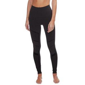 alo yogaFlocked High-Waist Moto Legging - Women's