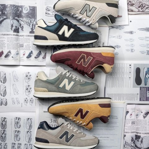 全场8.5折 $94收IU同款上新:New Balance 男女运动鞋专场 收爆款拼色327运动鞋