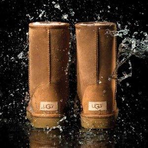 8折 $180.99(原价$224.99)闪购:Ugg 经典防水雪地靴  凹造型利器