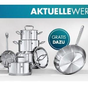 限今天:双立人Twin Classic 5件套 史低€87.2买就送价值74.95欧的平底锅