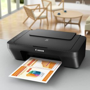 折后仅€66 还可打印照片Canon 佳能多功能喷墨打印机 居家办公学习好帮手