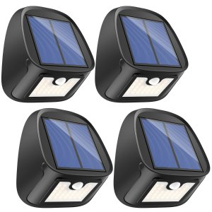 $16.89Erligpowht 太阳能 LED 室外照明灯 4件