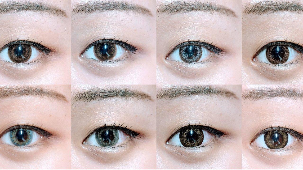 LOOOK美瞳测评 | 我想一直沦陷在你的眼眸