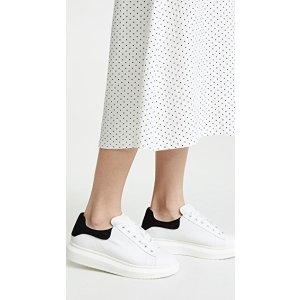 StevenGlazed Lace Up Sneakers