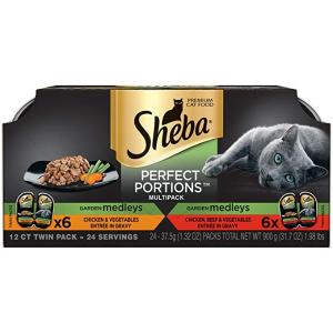 $9.60Sheba Perfect Portions Garden Medleys Cat Food