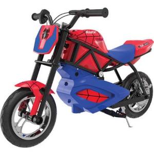 $99 (原价$349) 低价不多见Razor 蜘蛛侠超拉风 双12Volt电池驱动 儿童电机车