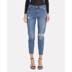 Levi'sWedgie Icon Distressed Jeans