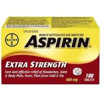 阿司匹林 强效版 500 mg 100粒