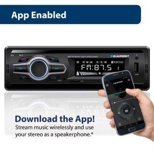 Blaupunkt AM/FM Bluetooth Media Receiver
