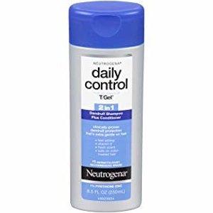 $9.11(原价$11.99)Neutrogena 露得清T/Gel 2合1去屑洗发水 250ml 含维E滋润头皮